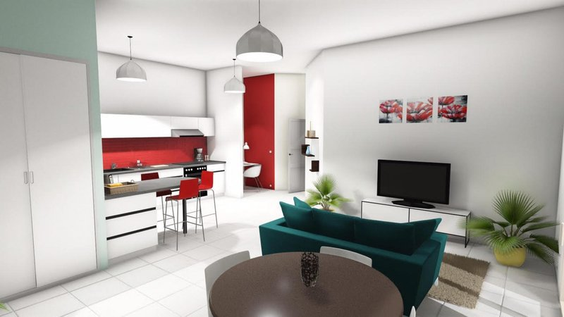 Programme immobilier neuf saint chamond 42400 superimmoneuf - Saint chamond 42400 ...