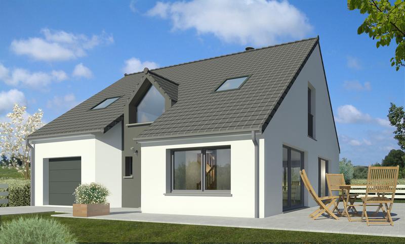 programme maison neuve marquette en ostrevant 59252 superimmoneuf. Black Bedroom Furniture Sets. Home Design Ideas
