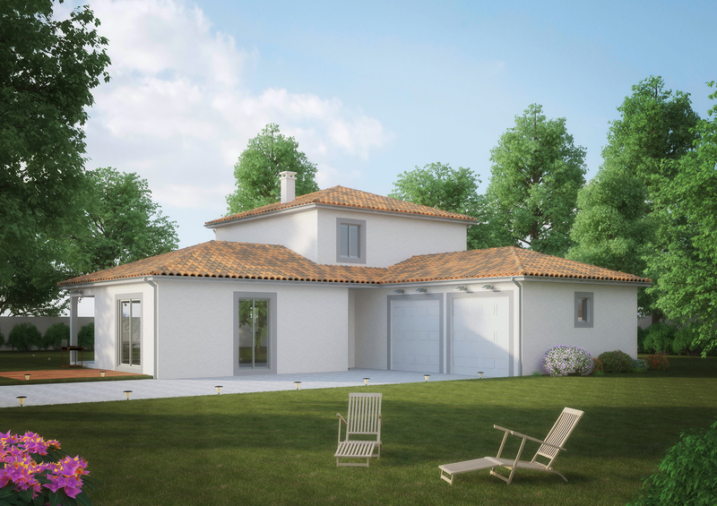 Programme maison neuve miribel 01700 superimmoneuf for Achat maison neuve 01700