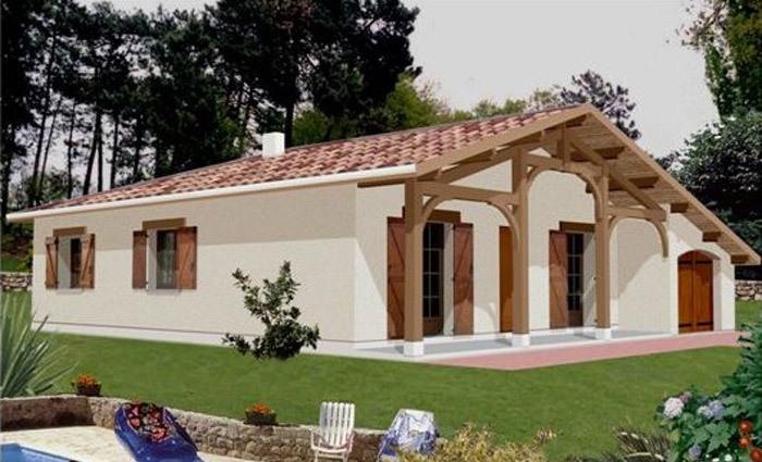 Programme maison neuve neuf ychoux 40160 superimmoneuf for Constructeur maison landaise