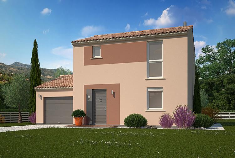 Programme maison neuve pusignan 69330 superimmoneuf for Programme maisons neuves