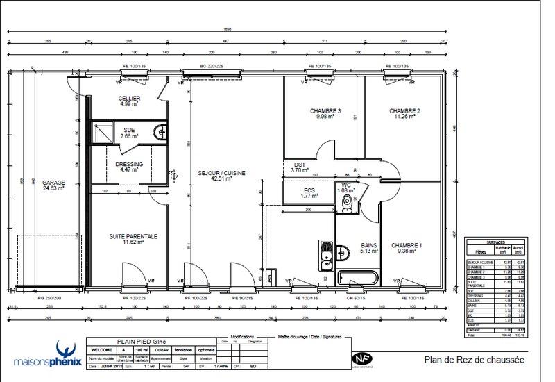 Maison phenix rennes maison moderne - Plan de maison phenix ...