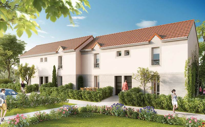 Programme immobilier neuf pont vendin 62880 for Programme maisons neuves