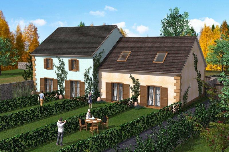 Programme maison neuve gouvieux 60270 superimmoneuf for Achat maison gouvieux