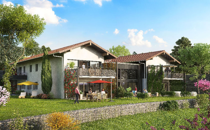 Programme immobilier neuf miribel 01700 for Achat maison neuve 01700