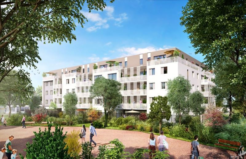 Programme appartement neuf neuf saint priest 69800 for Immobilier neuf deja construit