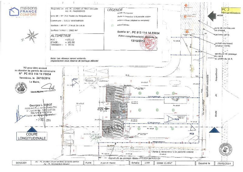 Immobilier plan maison mitoyenne gratuit for Construction maison mitoyenne plan
