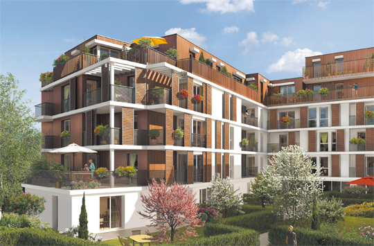 programme immobilier neuf fontenay le fleury 78330. Black Bedroom Furniture Sets. Home Design Ideas