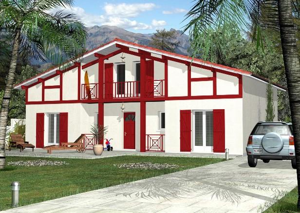 Programme immobilier neuf bidart 64210 superimmoneuf for Photos maison basque
