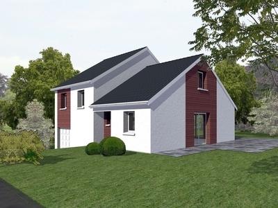 Maison neuve, 80,7 m²