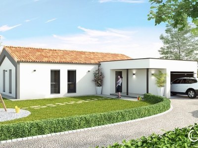 Maison neuve, 97 m² - Le Gua (17600)