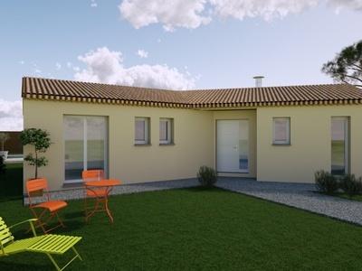 Maison neuve, 112 m² - Tonnay-Boutonne (17380)