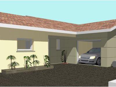 Maison neuve avec jardin à Foissiat