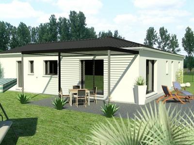 Maison neuve, 90 m² - Semussac (17120)