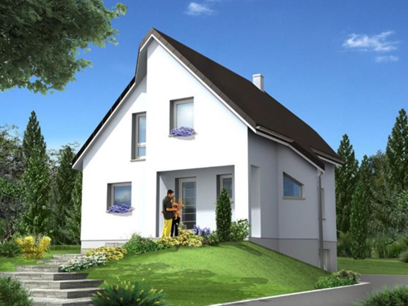 maisons claude rizzon alsace kutzenhausen maisons 240000. Black Bedroom Furniture Sets. Home Design Ideas