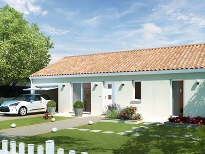 Maison neuve, 80 m² - Châtenoy-en-Bresse (71380)