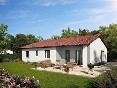 Maison neuve, 99 m² - Boën-sur-Lignon (42130)