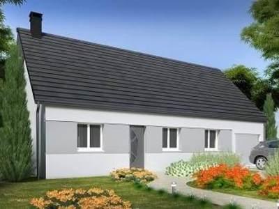 Maison neuve, 72,75 m² - Barjouville (28630)