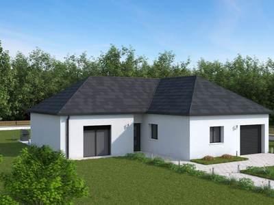 Maison neuve, 92,38 m²