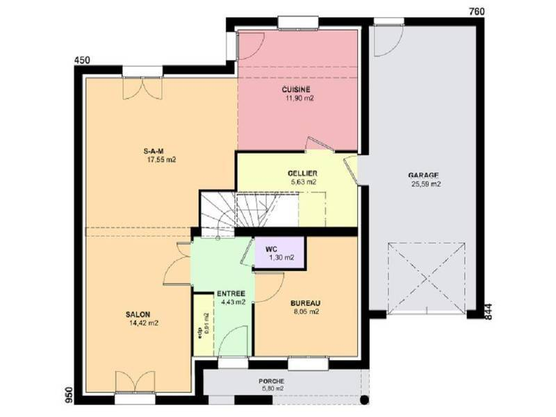 plan maison horizon