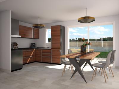 Maison neuve, 83 m²