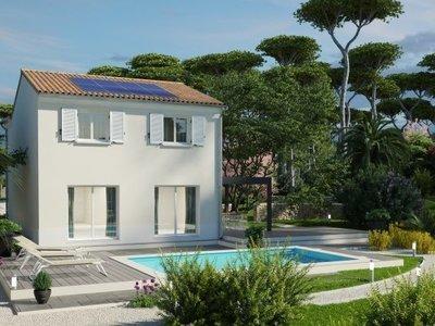 Maison neuve, 107 m² - Lairoux (85400)