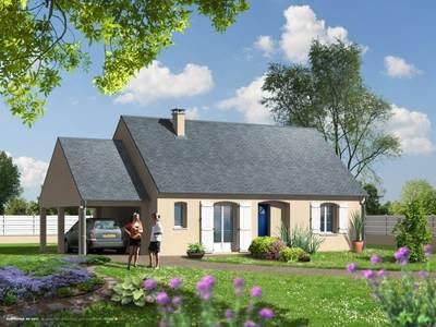 Maison neuve, 75 m²