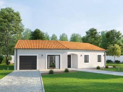 Maison neuve, 85 m² - Saint-Pierre-de-Chignac (24330)