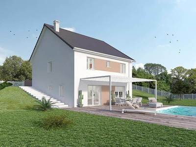 Maison neuve, 90 m² - Saint-Léger-sur-Dheune (71510)