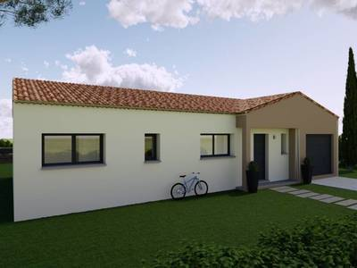 Maison neuve, 95 m² - Meyrargues (13650)