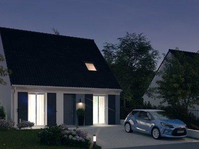 Maison neuve, 81 m²