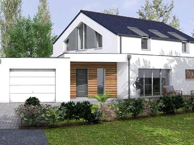 Maison neuve, 180 m² - Nantes (44300)