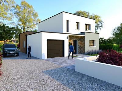Maison neuve, 120 m² - Haute-Goulaine (44115)