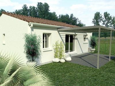 Maison neuve, 70 m² - Port-des-Barques (17730)