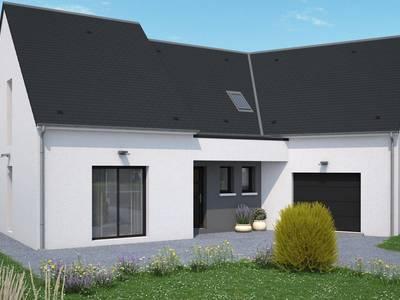 Maison neuve, 164 m² - Saint-Jean-de-Braye (45800)