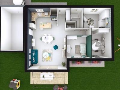Maison neuve, 83 m² - Bagnols-sur-Cèze (30200)