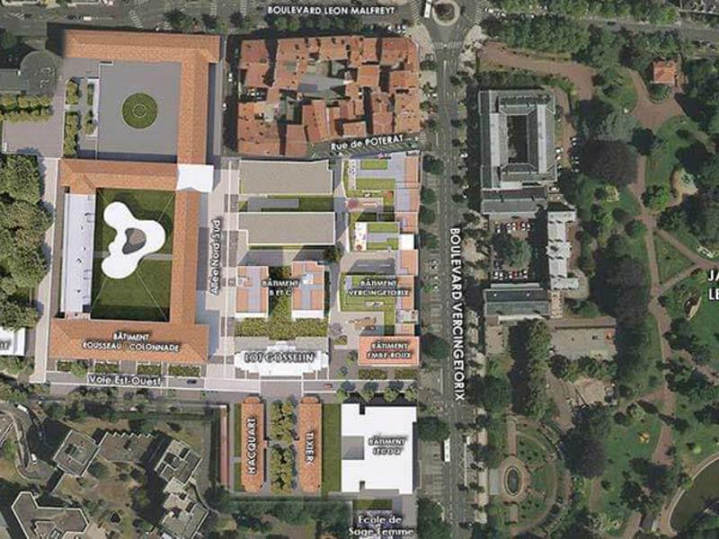 Les Pavillons - Hôtel Dieu