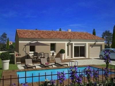 Maison neuve, 76 m² - Montpellier (34070)