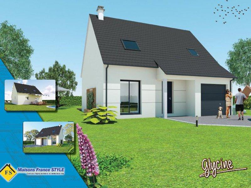 Maisons France Style maisons france style à houdan maisons de 4 pièces 240700 - superimmoneuf