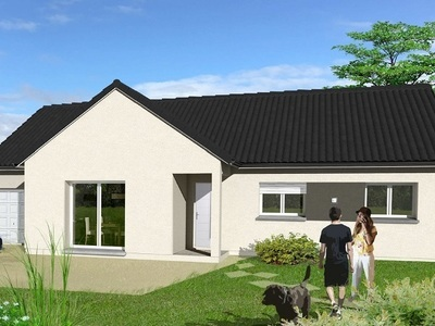 Maison neuve, 105 m² - Méry-ès-Bois (18380)