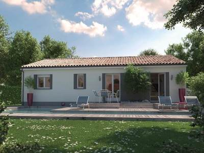 Maison neuve, 64 m²