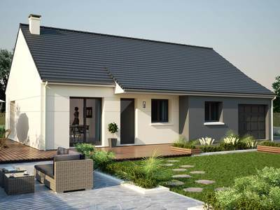 Maison neuve, 85,92 m² - Vernon (27200)