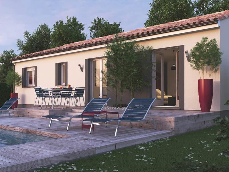 mca maisons de la cote atlantique libourne maisons de 4 pi ces 159900 superimmoneuf. Black Bedroom Furniture Sets. Home Design Ideas