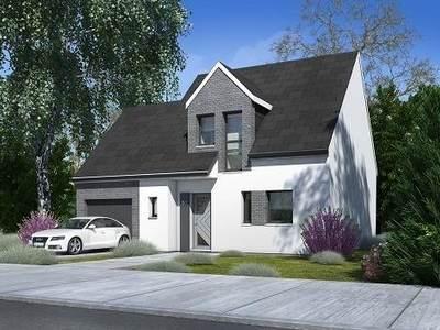 Maison neuve, 88,88 m²