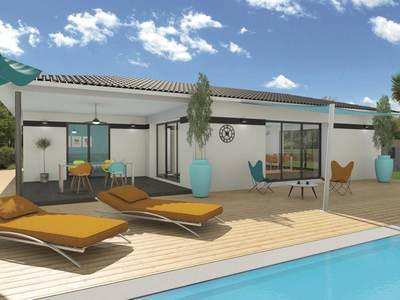 Maison neuve, 118 m²