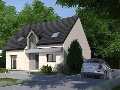 Maison neuve, 123,1 m² - Val-de-Reuil (27100)