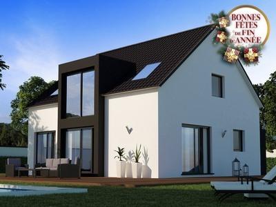 Maison neuve, 83 m² - Pleslin-Trigavou (22490)