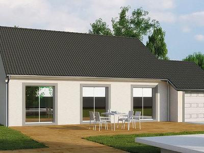 Maison neuve, 100 m² - Bey (71620)