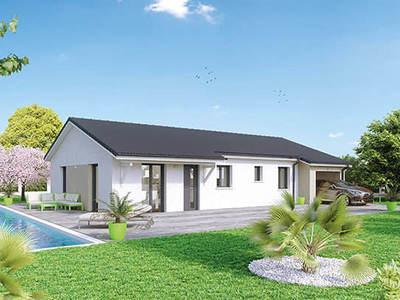 Maison neuve, 90 m² - Chirassimont (42114)