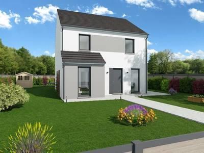 Maison neuve, 118 m² - Barentin (76360)
